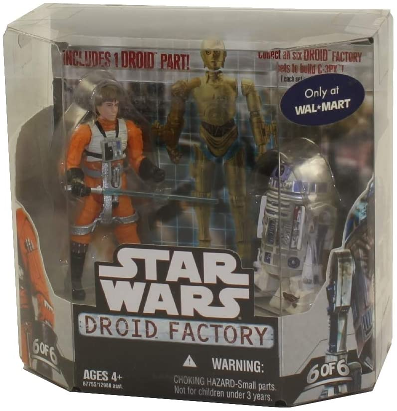 Star Wars Saga 2008 Build-A-Droid Factory Action Figure 2-Pack