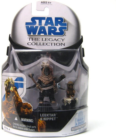 Hasbro Star Wars The Leagacy Collection Ewoks Leektar and amp; Nippert