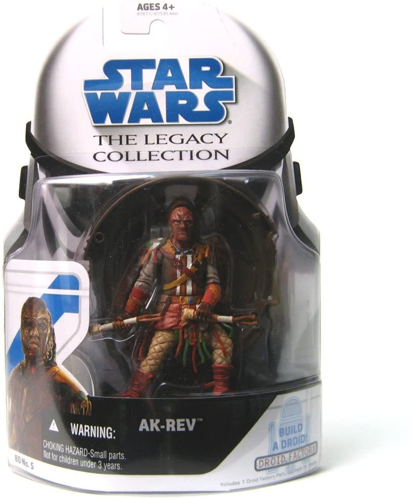 Hasbro Star Wars The Legacy Collection Ak-Rev Action Figure