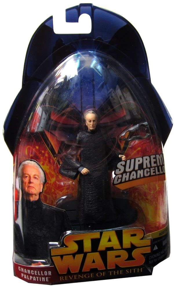 Star Wars Episode III 3 Revenge of the Sith SUPREME CHANCELLOR PALPATINE