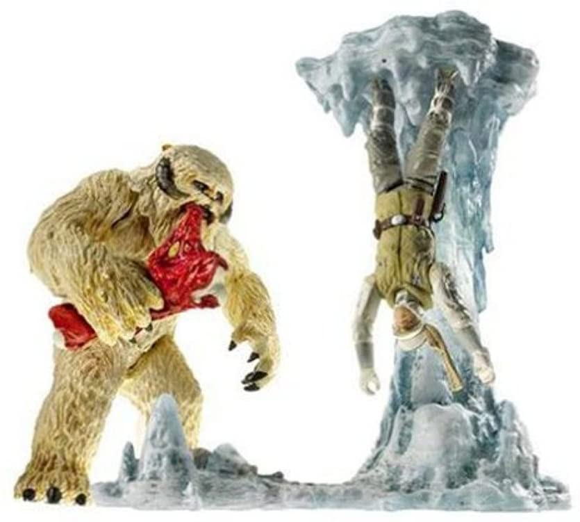 Hasbro Star Wars Empire Strikes Back Wampa with Hoth Cave Attack