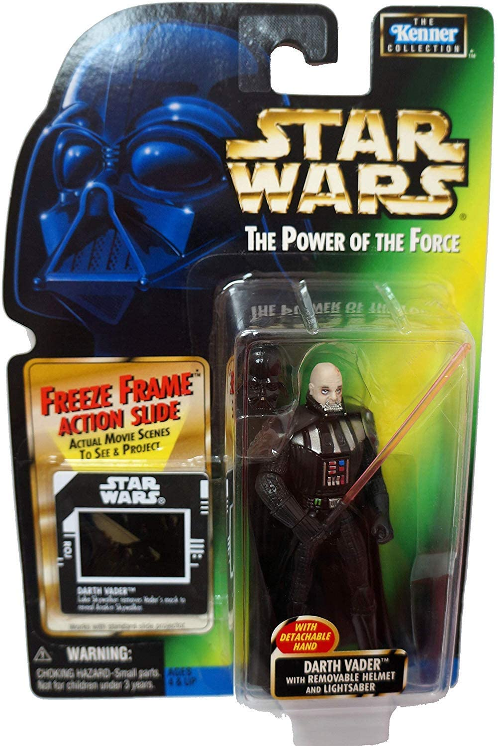 Star Wars Year 1997 The Power of the Force 4 Inch Tall Action Figure