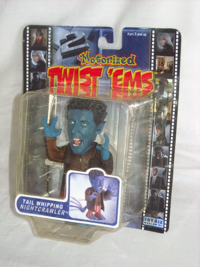Toy Biz Marvel Movie Twist EMS Nightcrawler