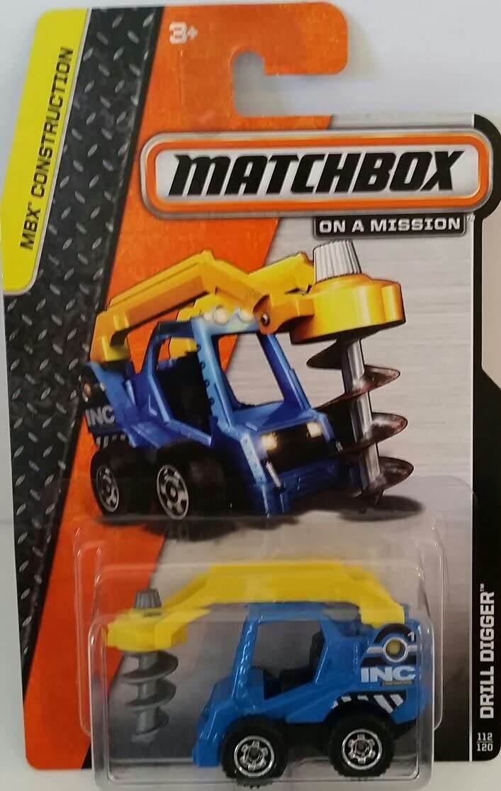 "Matchbox ""On a Mission"" - MBX Construction - Drill Diggerr #112/120"