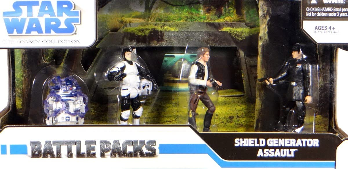 Star Wars Legacy Collection Battle Pack Assault on The Shield Generator