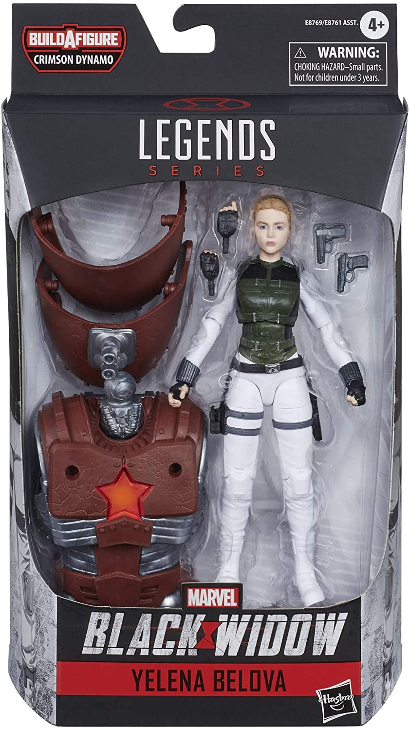 Marvel Hasbro Black Widow Legends Series 6-inch Collectible Yelena Belova Action Figure Toy, Premium Design,