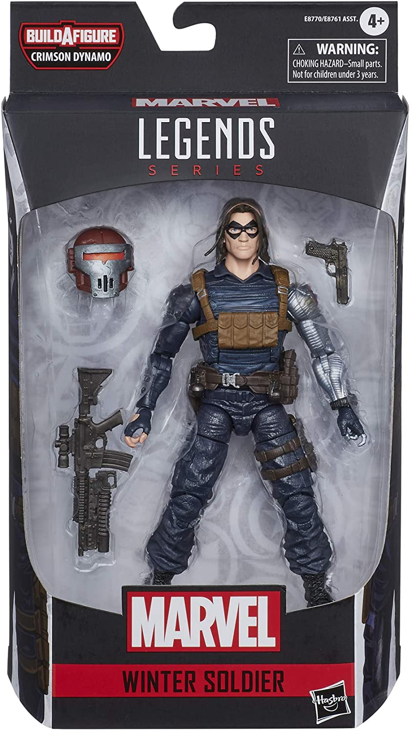 Marvel Hasbro Black Widow Legends Series 6-inch Collectible Winter Soldier Action Figure Toy