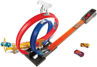 Hot Wheels FKV69 Mattel Energy Track.. Die, Blue