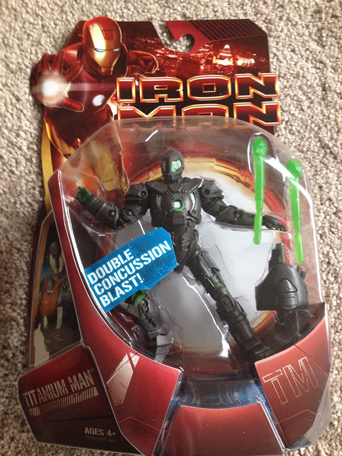 Hasbro Iron Man Movie Wave 01.5: Titanium Man