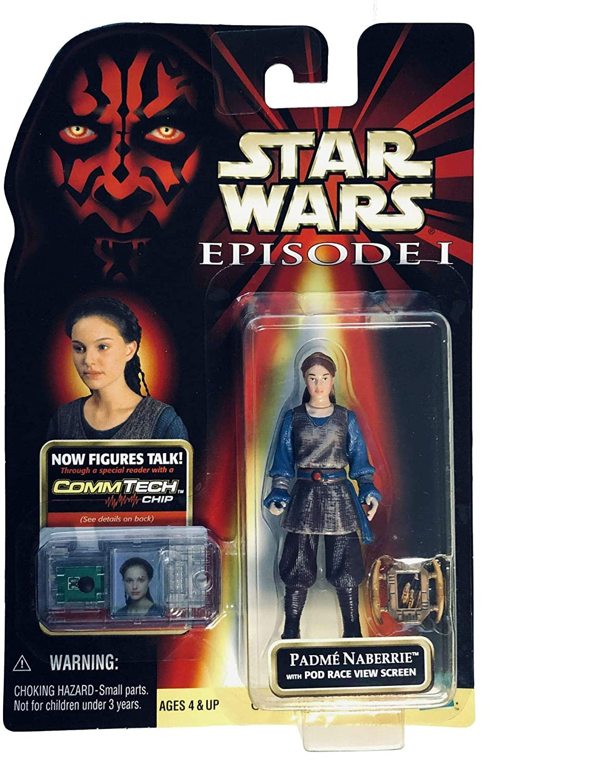 Star Wars Ep I: The Phantom Menace, Padme Naberrie Action Figure