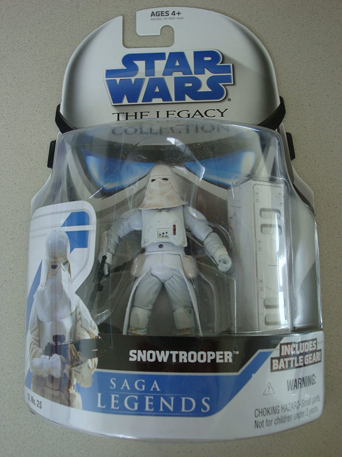 Hasbro Snowtrooper Saga Legacy Collection Star Wars Action Figure
