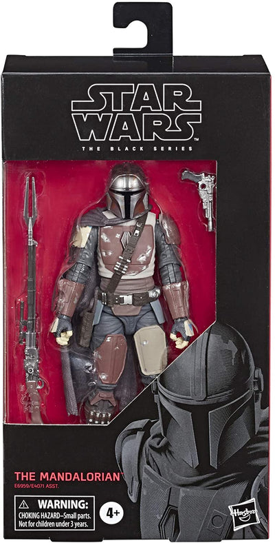 "Star Wars The Black Series The Mandalorian Toy 6"" Scale Collectible Action Figure"
