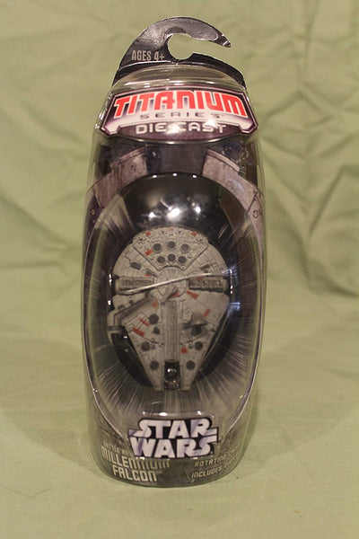 Hasbro Titanium Series Star Wars 3INCH Vehicles - Battle RAVAGED