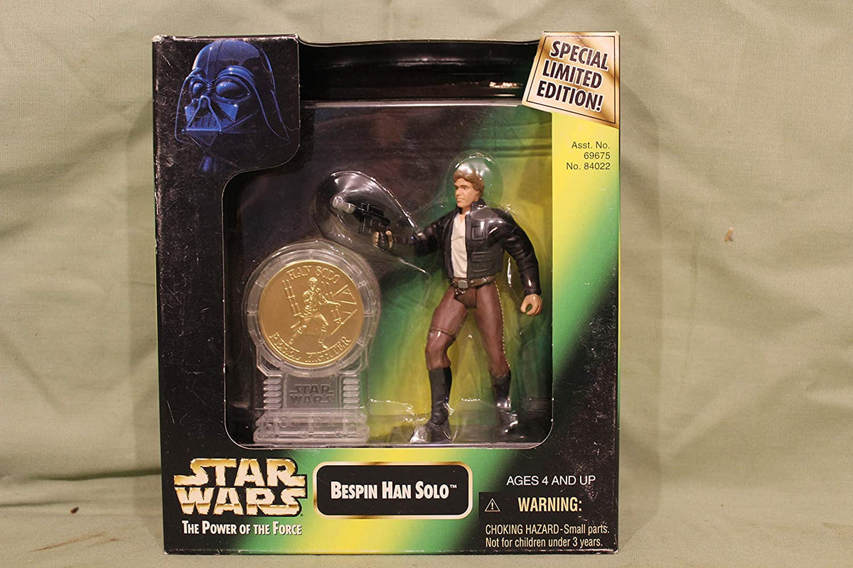 Star Wars Millenium Minted Coins: Han Solo in Bespin Gear by Hasbro