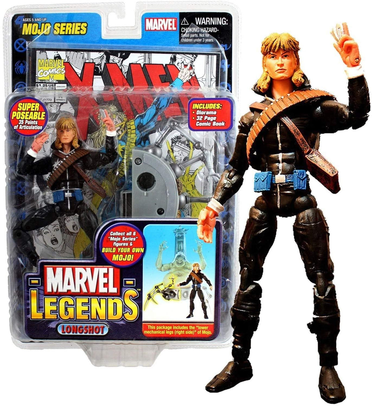 Marvel ToyBiz Year 2006 Legends Mojo Series 6 Inch Tall Figure