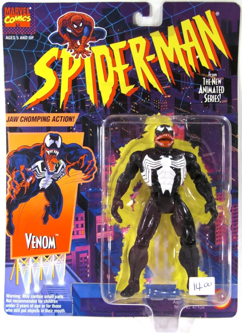 Spider-Man: The Animated Series > Venom Action Figure