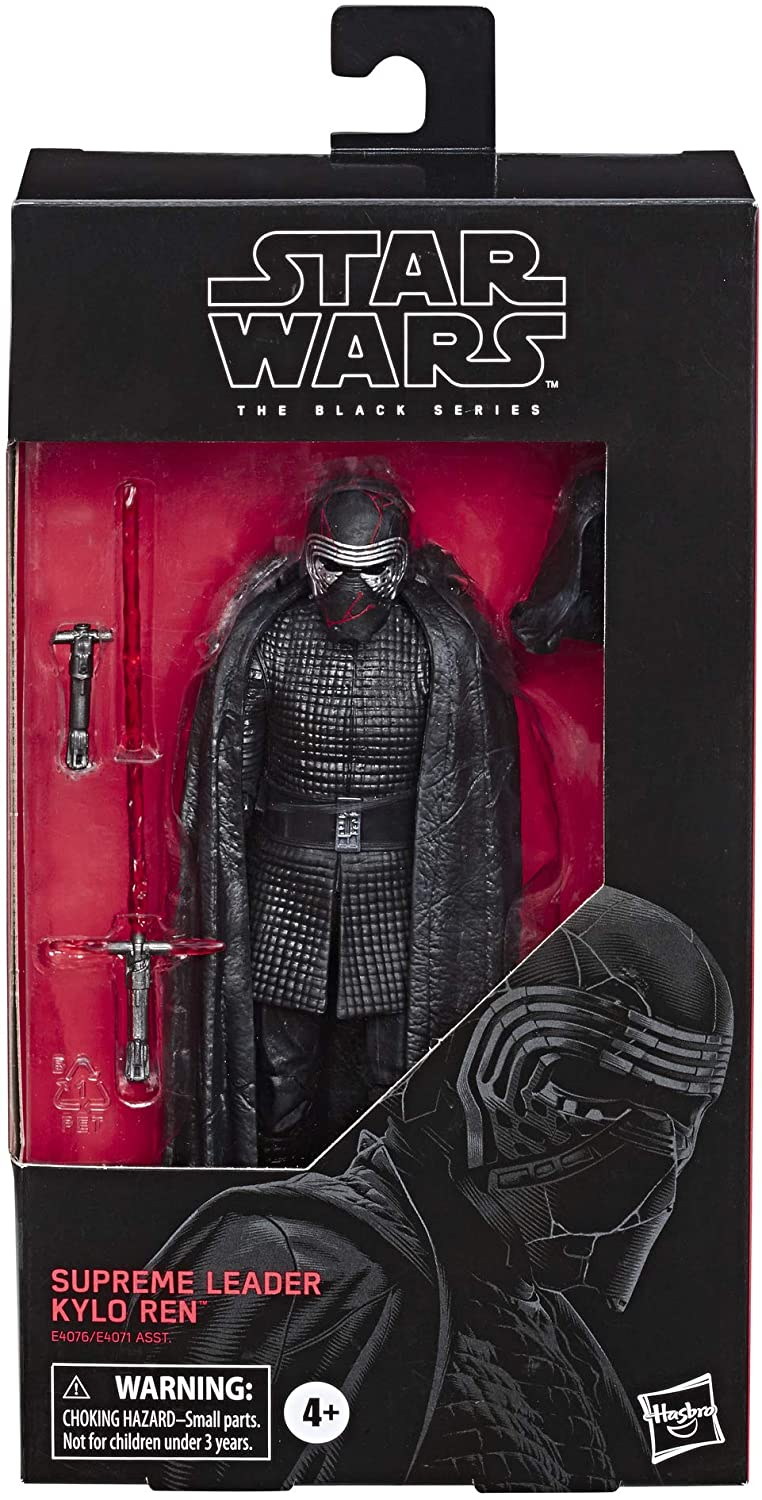 "Star Wars The Black Series Supreme Leader Kylo Ren Toy 6"" Scale The Rise of Skywalker"