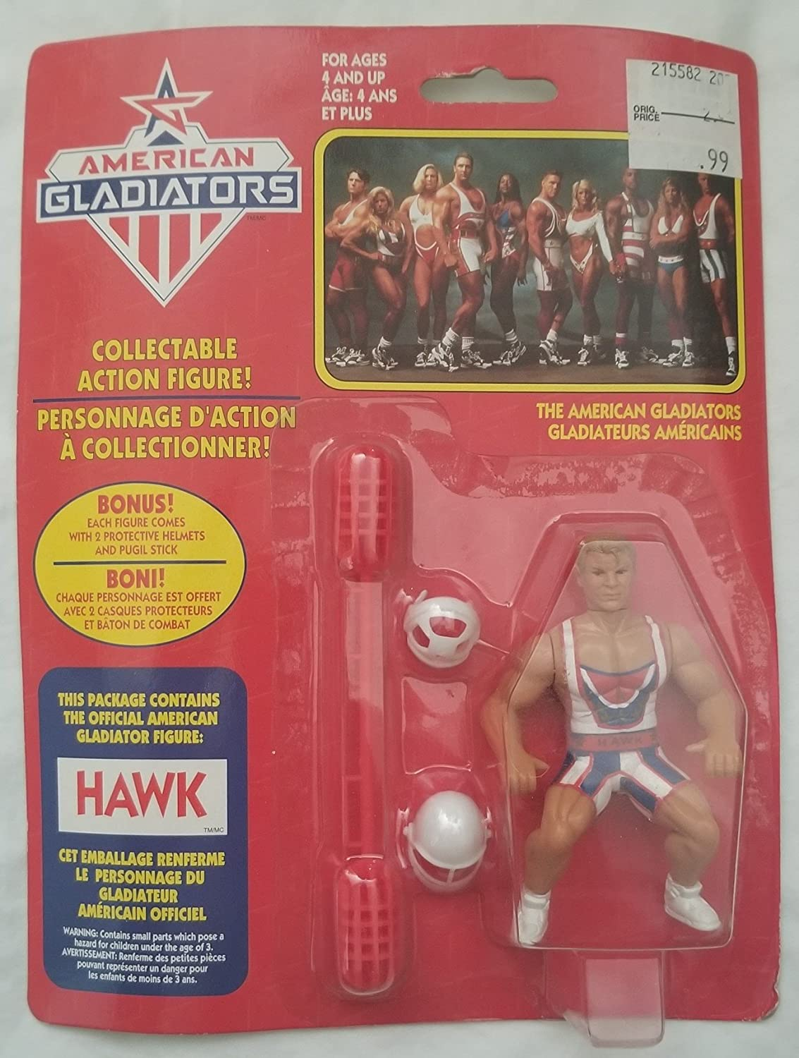 The American Gladiators Hawk by Irwin Canada/French