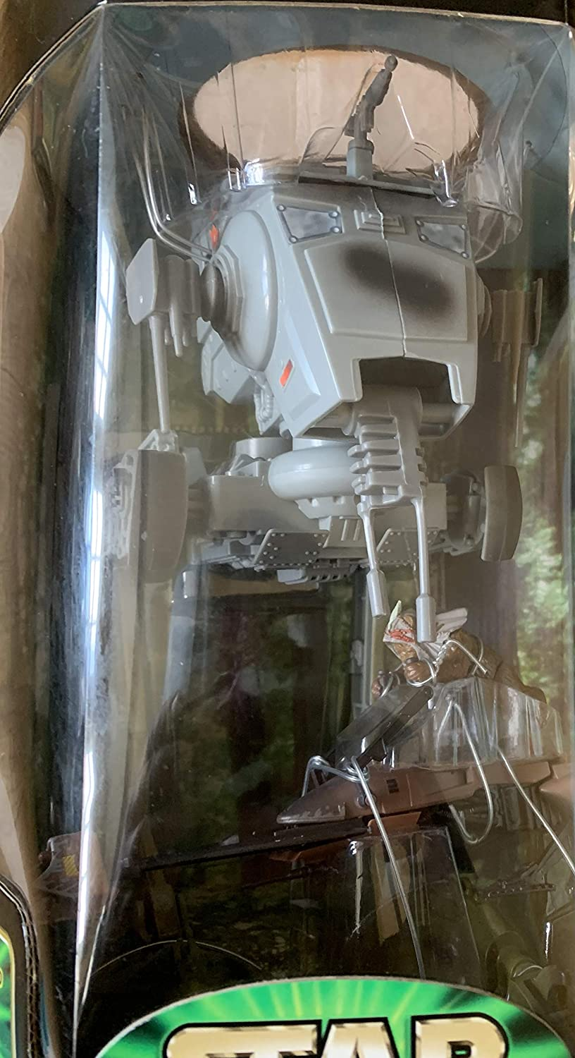 Star Wars Power of the Jedi IMPERIAL AT-ST SCOUT WALKER & PAPLOO