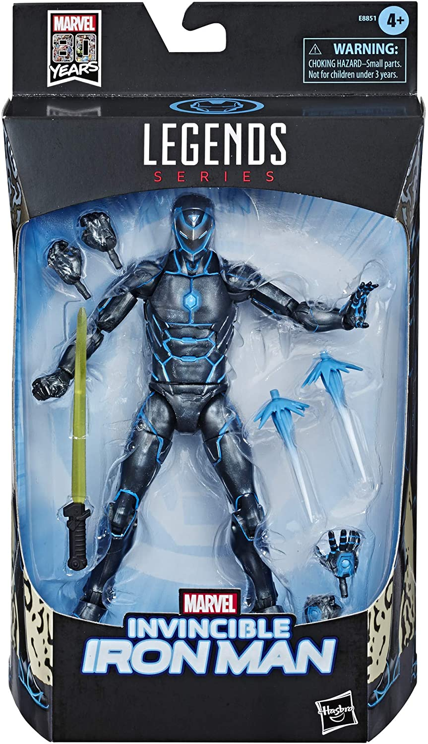 "Hasbro Marvel Legends Series 6"" Collectible Action Figure Iron Man Toy"