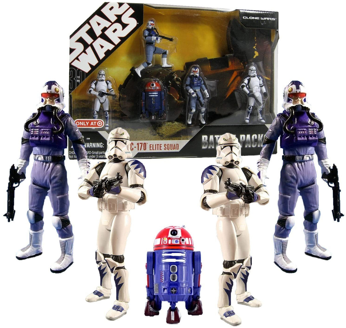 Star Wars 30th Anniversary Battle Pack ELITE SQUAD with 5 Action Figures