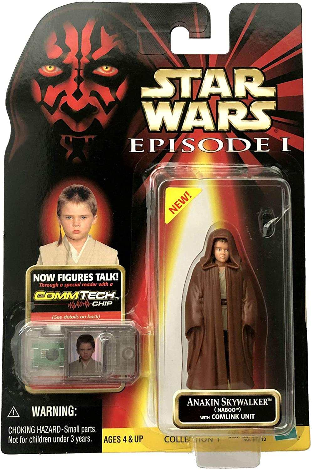 Star Wars Episode 1 Anakin Skywalker (Naboo) Action Figure