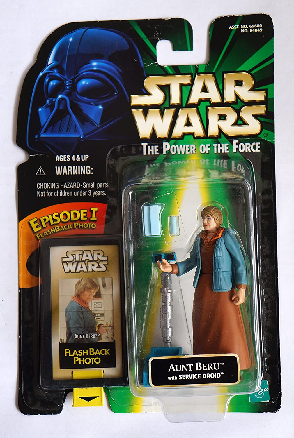 Star Wars The Power of the Force Flashback Aunt Beru Action Figure