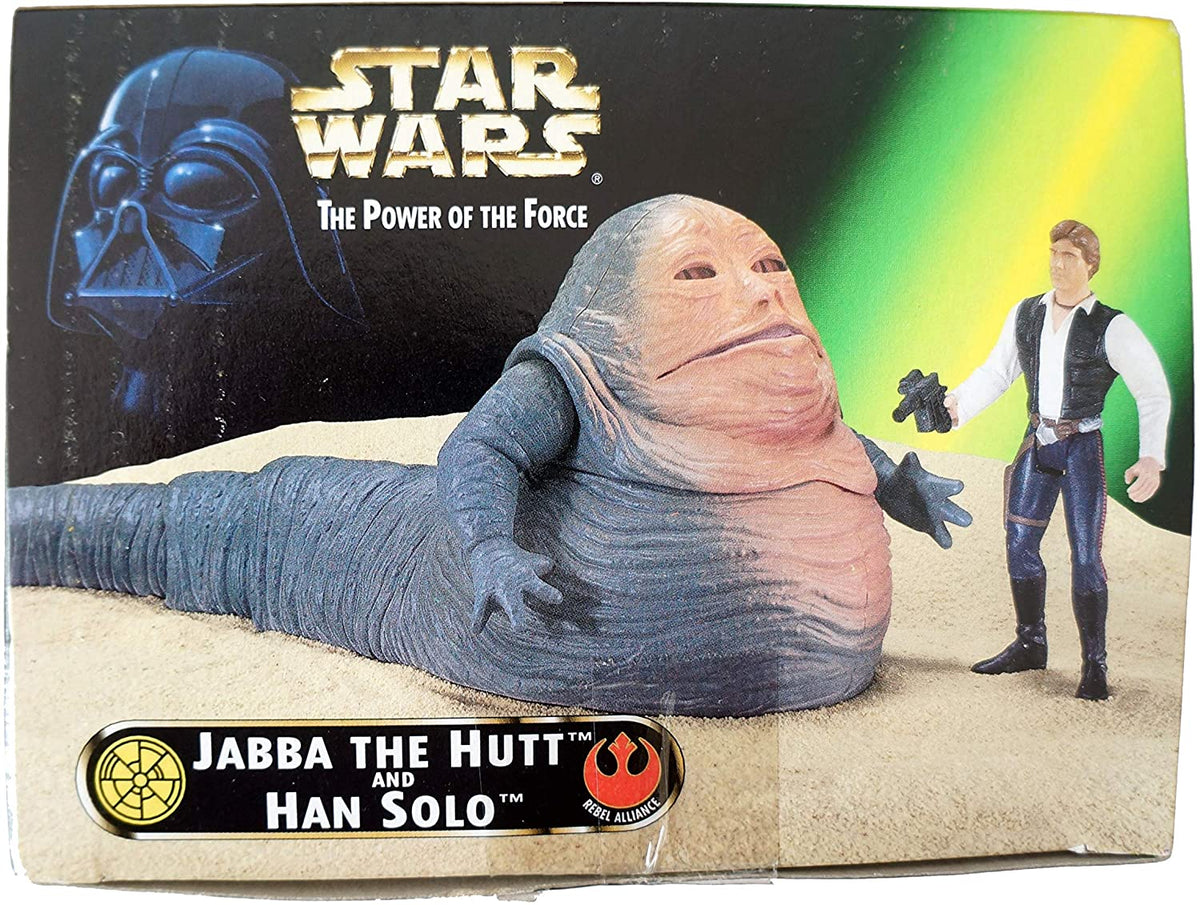 Star Wars Power of the Force Collectors Trilogy Edition Jabba & Hans Solo