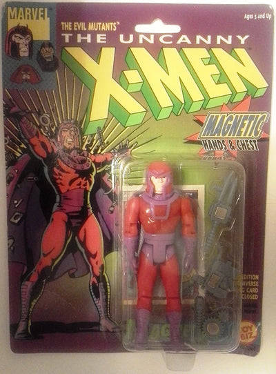 Toy Biz Marvel The Uncanny X-Men Magneto Action Figure 4.75 Inches