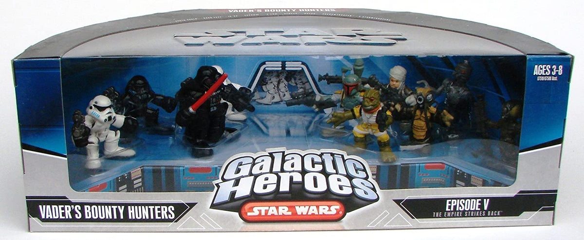 Star Wars Galactic Heros Episode V The Empire Strikes Back Vaders Bounty Hunters