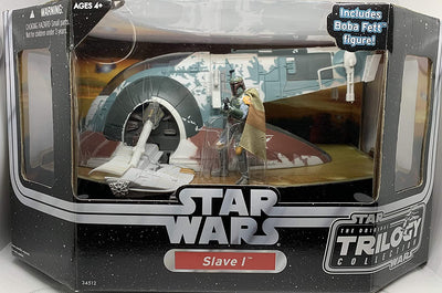 Slave 1 with Boba Fett Figure - Star Wars OTC Vehicle Collection