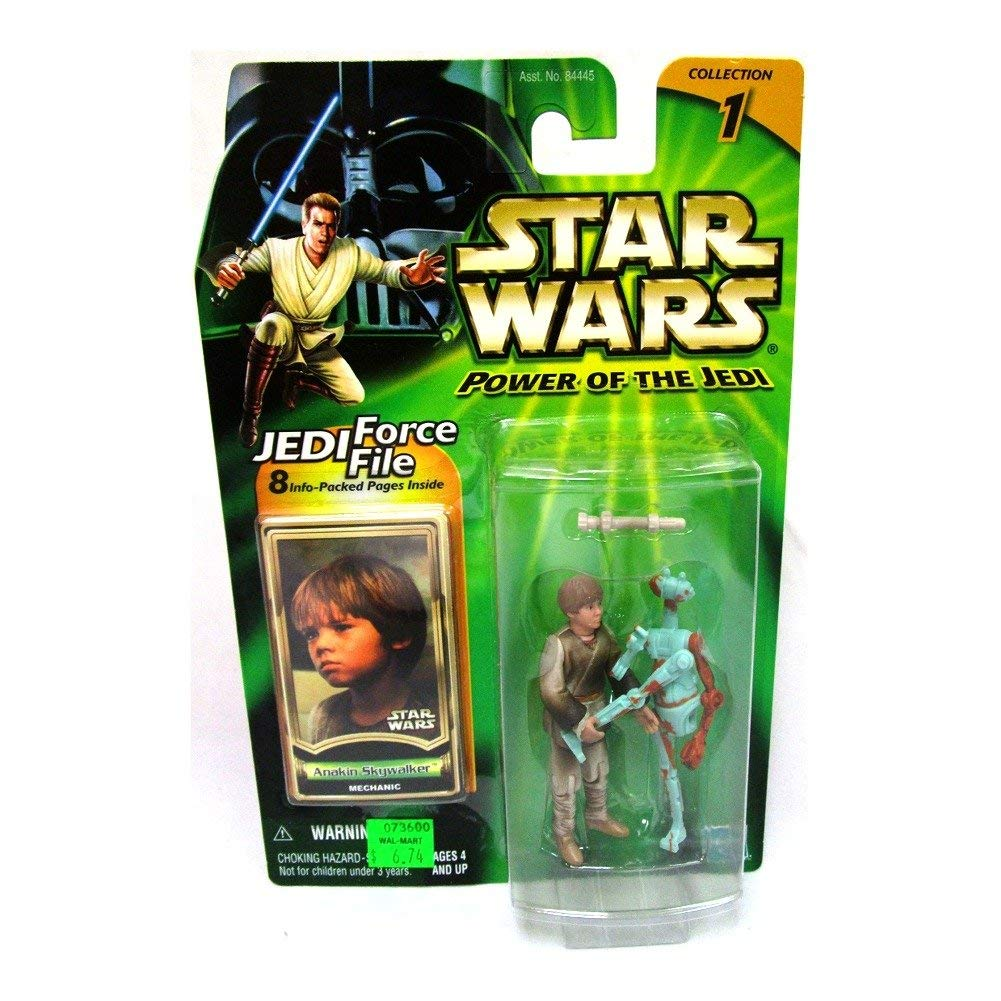 ANAKIN SKYWALKER * MECHANIC * Star Wars Power of the Jedi Collection 1 Action...