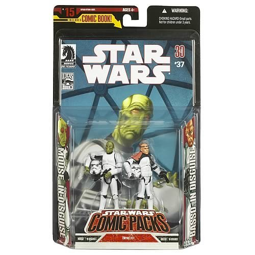 Action Figure Comic Packs Empire #37 Stormtrooper Disguise 2 Pack (Mouse and Basso)