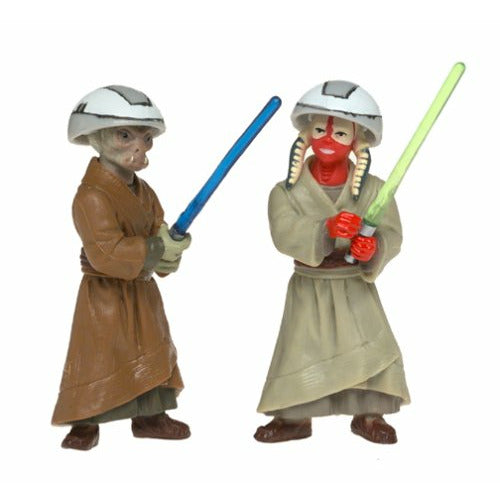 Ashla & Jempa Jedi Temple Training Action Figures