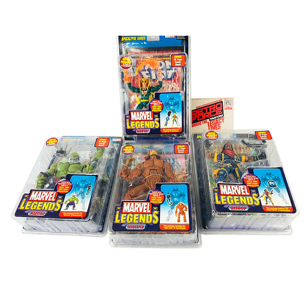 Marvel Legends Apocalypse Series Action Figures (Pack of 4)