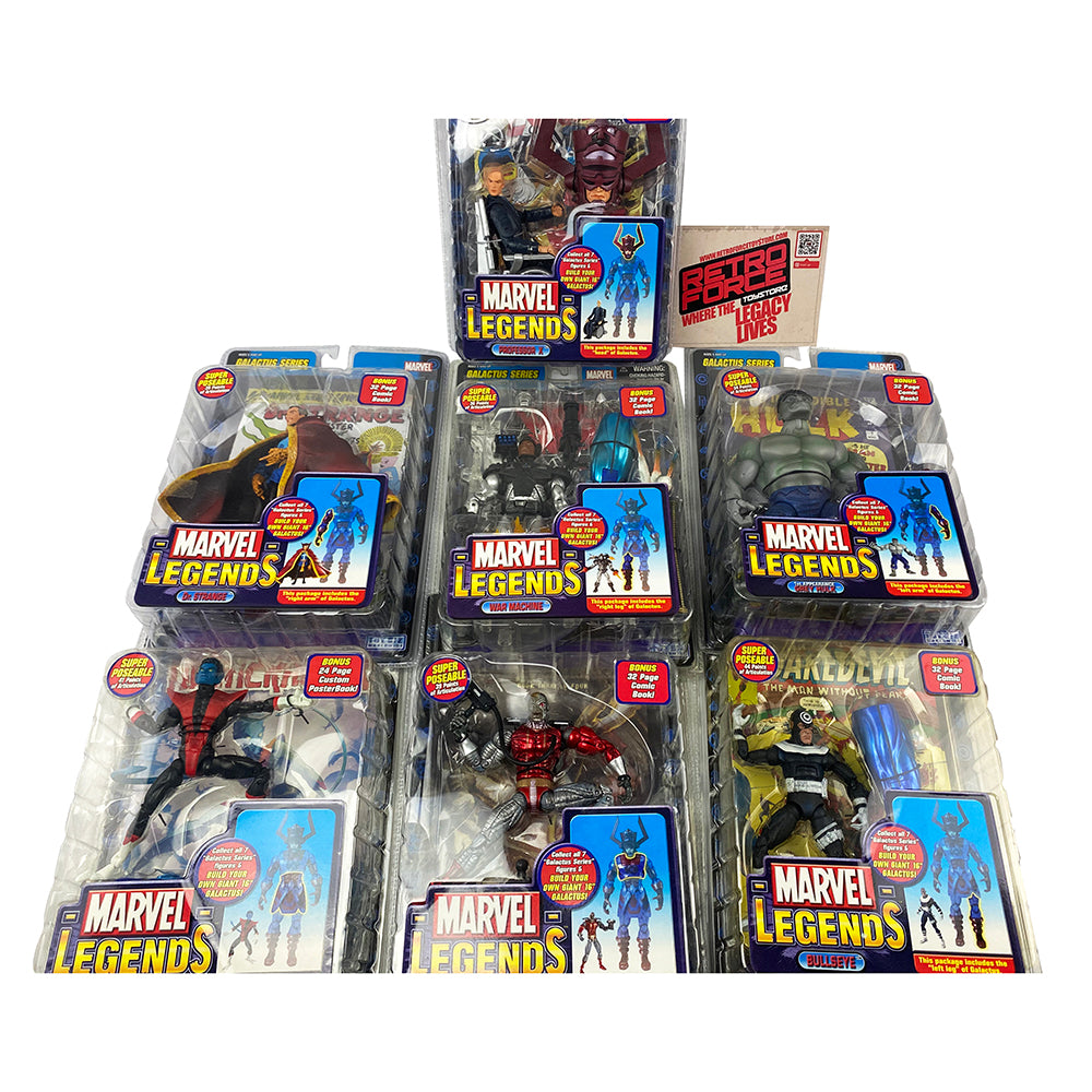 Marvel Legends GALACTUS SERIES New Action Figures (Pack of 7)