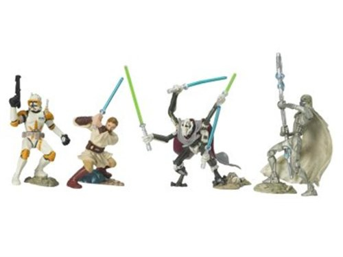 COMMANDERS Star Wars Battle Of Utapau UNLEASHED Battle Packs 4 Pack