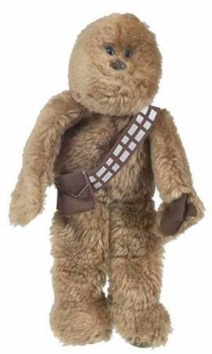 Chewbacca - Brown Belt - Star Wars Saga Buddies Beanie Plush