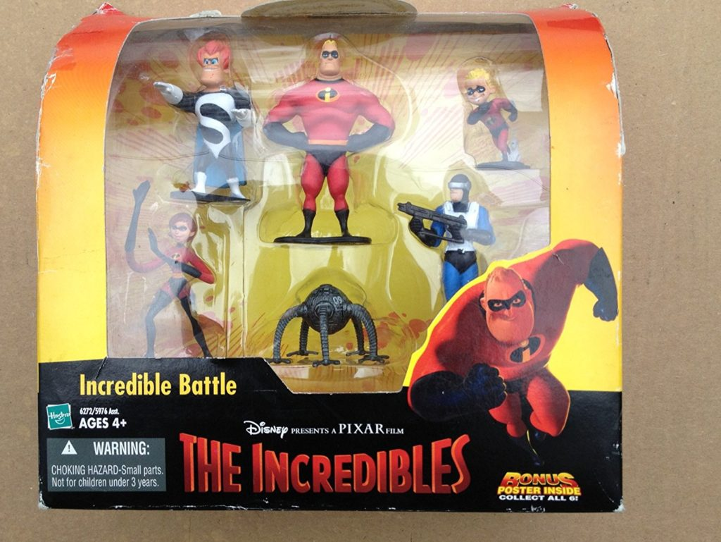 Disney THE Incredibles Incredible Battle Figure Set Toy
