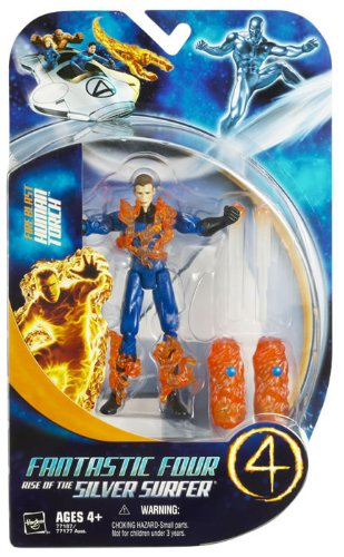 Fantastic 4 Action Figureure Fire Blast Human Torch