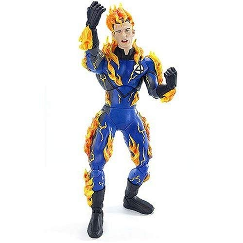 "Fantastic 4 Movie Series II Deluxe 12"" Figure: Human Torch (Decorated)"
