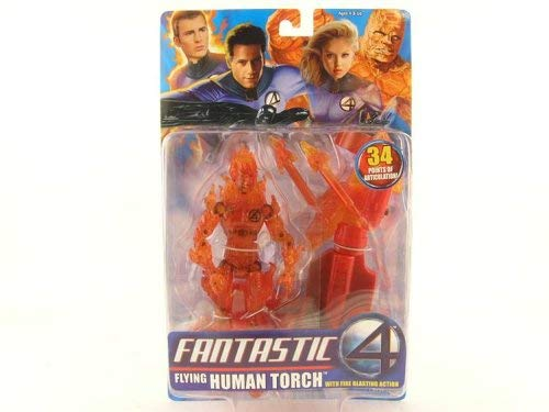 Fantastic Four Flying Human Torch Action Figure