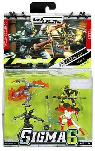 G.I. Joe 2.5 Inch Mission Night Blade