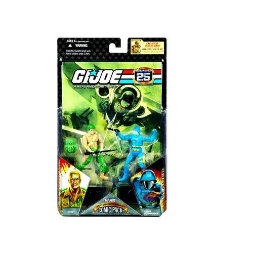 G.I. Joe 25th Anniversary Comic Pack - Duke & Cobra Commander