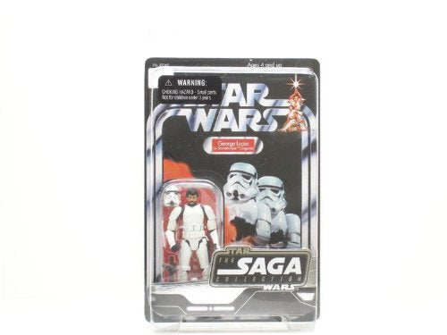 George Lucas in Stormtrooper Disguise Action Figure
