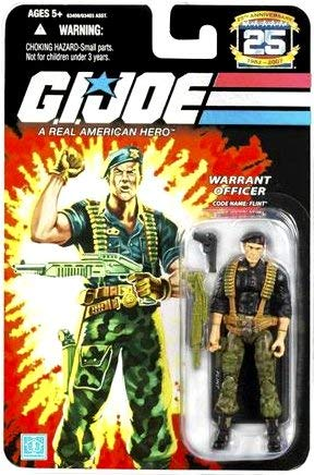 G.I. Joe 25th Anniversary: Flint (Warrant Officer) 3.75 Inch Action Figure