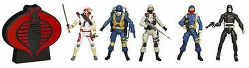 Hasbro GI Joe 25th Anniversary Cobra Legions 5-Pack