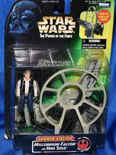 Hasbro Han Solo Millenium Falcon Star Wars Figure With Gunner Station