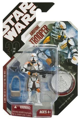 "Hasbro Star Wars 3.75"" Airborne Trooper"