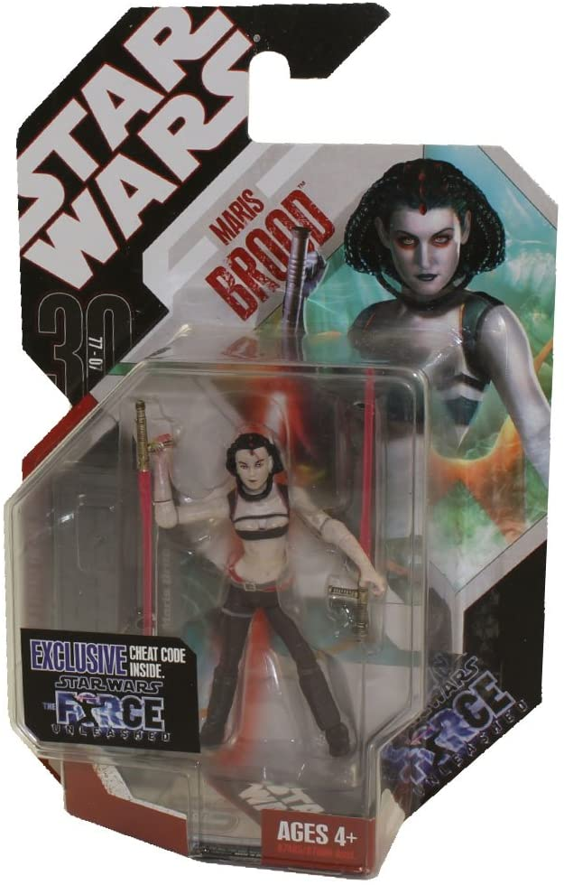 Hasbro Star Wars Basic Figure Force Unleashed Maris Brood
